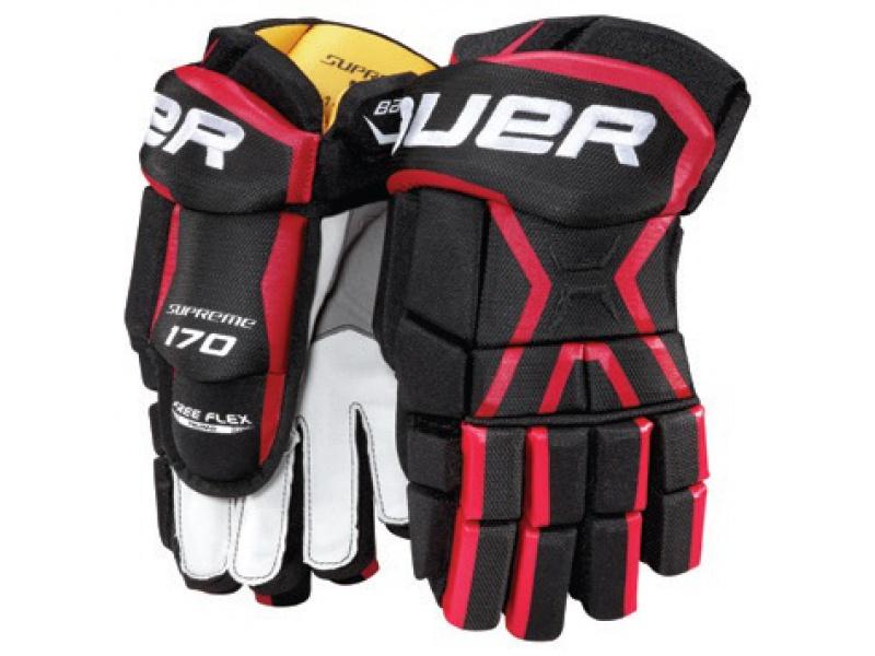 Hokejové rukavice BAUER Supreme 170 SR