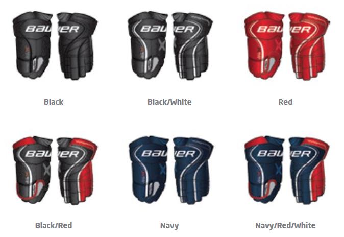 Hokejové rukavice Bauer Vapor X900 LITE sr